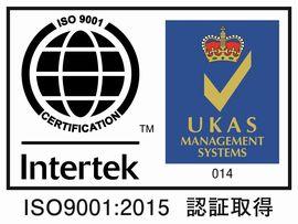 トキトレーディングはISO取得企業です。ISO9001:2008認証取得